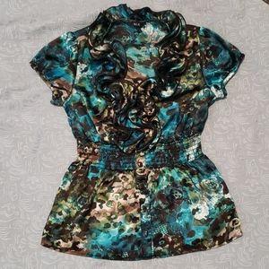 💙 5 for $16-BCX blouse